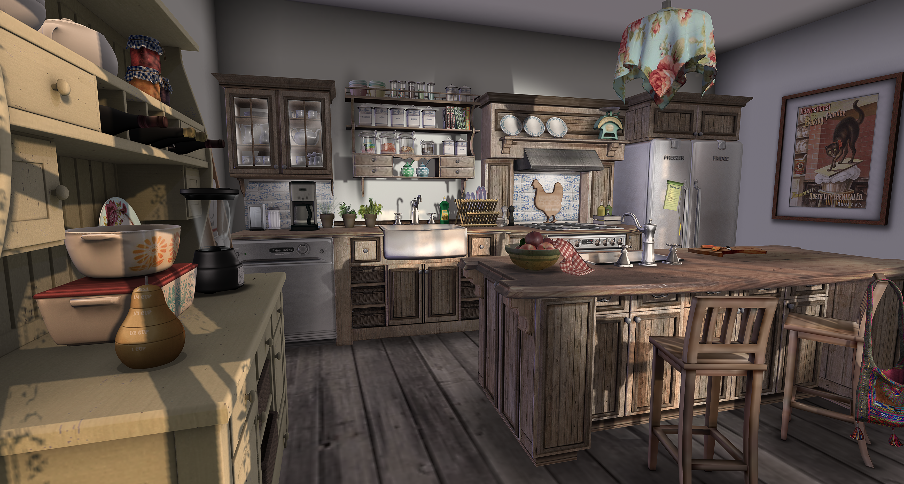 Cottage Kitchen – Decorating and other stuff